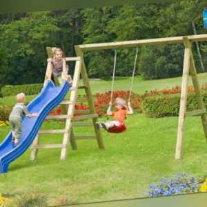 Schaukel Premium 5.1 Kinderspielgerät Kinderschaukel Kinder Holz Spiel kdi NEU