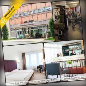 Städtereise München 4 Tage 2 Personen AZIMUT Hotel Hotelgutschein City Kurzreise