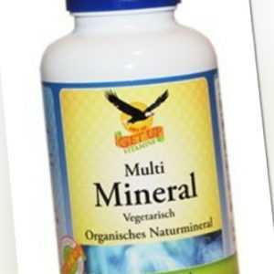 Multi Mineral organisch, 180 Kaps - VEGGY