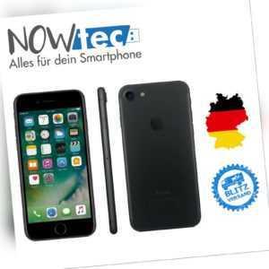 Apple iPhone 7 - 32GB -Schwarz WIE NEU (Ohne Simlock) mit Händlergarantie