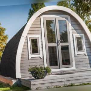 Campinghaus, Camping Pod, Ferienhaus, Wochenendhaus, Gartenhaus,Holz,38mm 383878