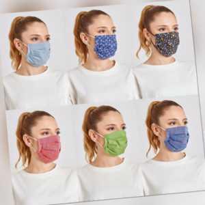 Stoffmaske, Maske, Mundschutz Maske, Baumwollmaske, Waschbar, Gesichtsmaske