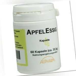 APFELESSIG Kapseln 60x0,46 g 00210335