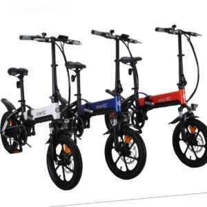 smartEC Camp-Mini Falt Pedelec/E-Bike 16 Zoll Samsung Li-Akku 36V/7,8AH