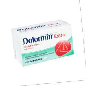 Dolormin extra 50stk PZN 02400229