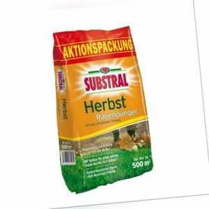 SUBSTRAL® Herbst-Rasendünger 12,5 kg für 500 m²