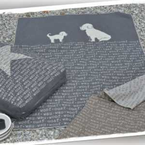 Haustierdecke WAU - WAU grau 100x140cm David Fussenegger   Hund,