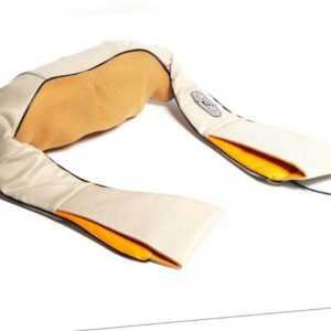 Shiatsu Nacken-Massagegerät mit Infrarot-Wärmefunktion, Kfz-Adapter für Camping