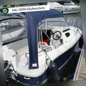 Müritz Ferienwohnung Urlaub in Waren mit Kajütboot 7ÜN/2P