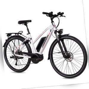 28 Zoll Elektrofahrrad Damen E-Citybike CHRISSON E-ROUNDER BOSCH Active 400