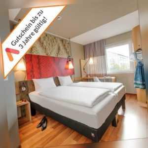 Kurzreise München Ost Messe 6 Tage 5 Nächte für 2 Personen Ibis Hotel Gutschein