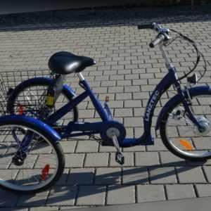 Dreirad für Erwachsene Seniorendreirad Therapiedreirad mit Elektroantrieb