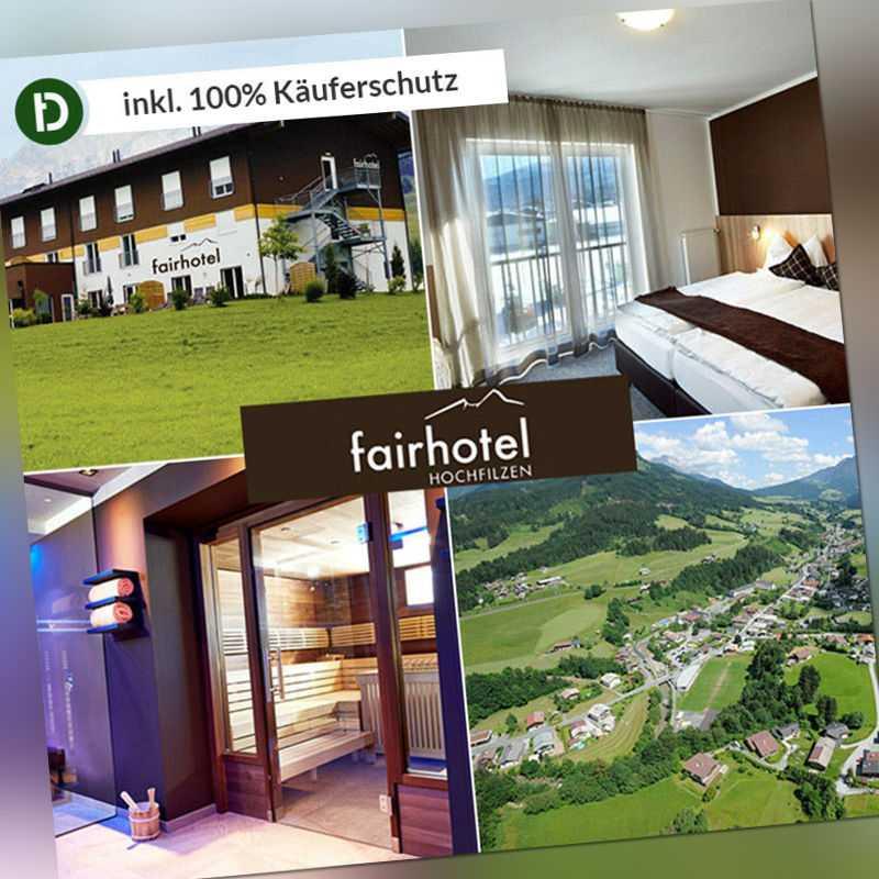 4 Tage Urlaub im Fairhotel Hochfilzen in Tirol mit Frühstück