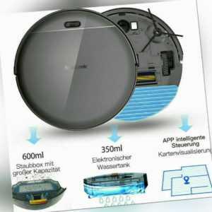 Proscenic 820T Saugroboter WLAN Alexa Staubsauger Roboter mit Nass Wischfunktion