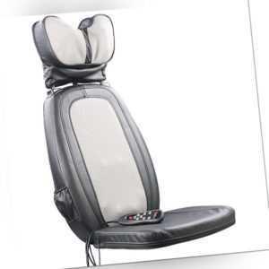 Massage: Shiatsu-Sitzauflage MA-600, Nackenmassage, IR-Tiefenwärme