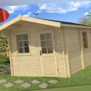 Tene Saunahaus Joonas 300x400 cm Gartenhaus Sauna Gartensauna Datsche Gerätehaus