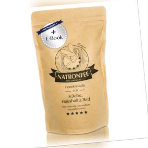 Natron Pulver - 1 kg Natron Lebensmittelqualität - Natriumhydrogencarbonat