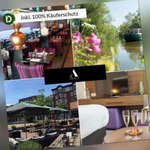 6 Tage Urlaub im Hotel Oosterhout in Noord-Brabant Niederlande mit Frühstück