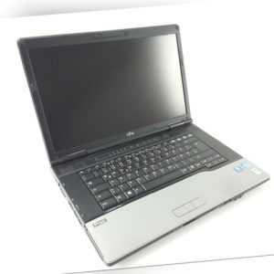 "Fujitsu LIFEBOOK E752 15,6"" Intel i5-3320M 4GB RAM 500GB HDD DVD-RW Win10  Pro"