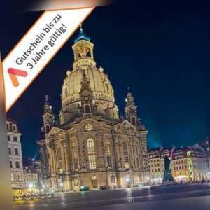 Familien Städtereise Dresden 4* Wyndham Garden Hotel Gutschein 3 bis 4 Tage
