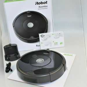 iRobot Roomba 606 Saugroboter Roboterstaubsauger Beutellos Staubsauger Sauger