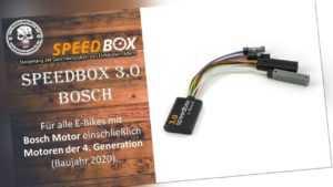 SpeedBox 3.0 für Bosch E-Bike Tuning Pedelec Tuning Ebike Tuning Chip Haibike