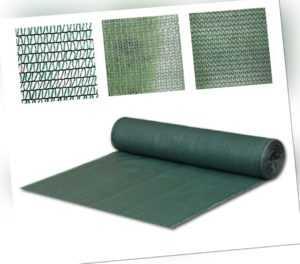 Schattiernetz Schattiergewebe Sonnenschutz Zaunblende 40% 55% 90% Größen wählbar