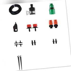 3X(25M Automatisches Mini Tropf BewäSserung System Garten BewäSserung Spray T5W3