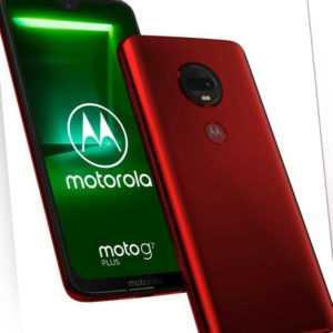 Motorola Moto G7 Plus XT1965-3 Single Sim Viva Red, Neu Sonstige