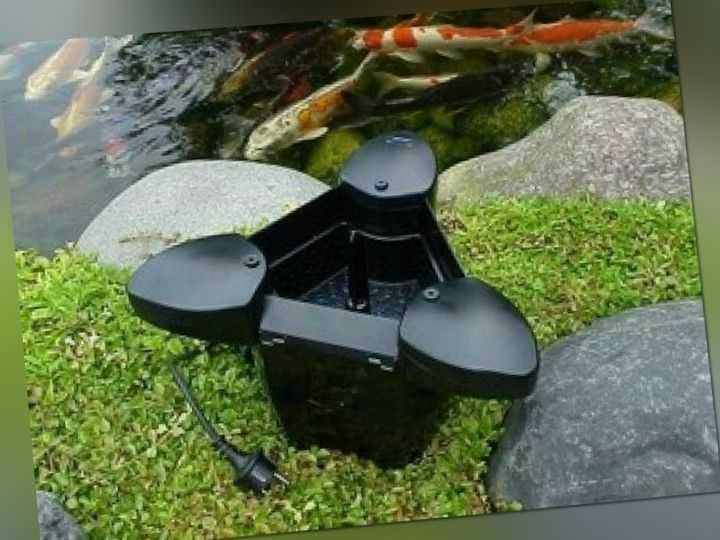 Oase SwimSkim 25 Skimmer, Oberflächensauger mit Motor, Teich absaugen