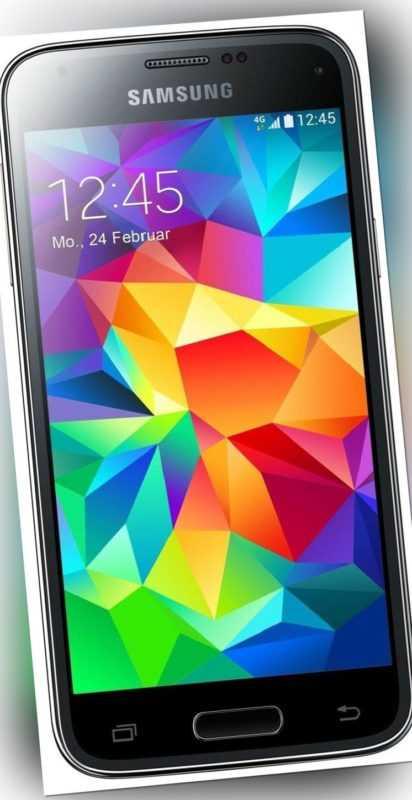 Samsung Galaxy S5 mini Charcoal Black Sehr Guter Zustand ohne Vertrag SM-G800F