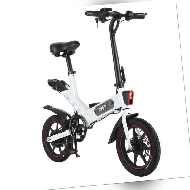 DOHIKER Y1 Elektrofahrrad Faltbar Fahrrad E-Bike Pedelec Klapprad 350W 25km/h EU