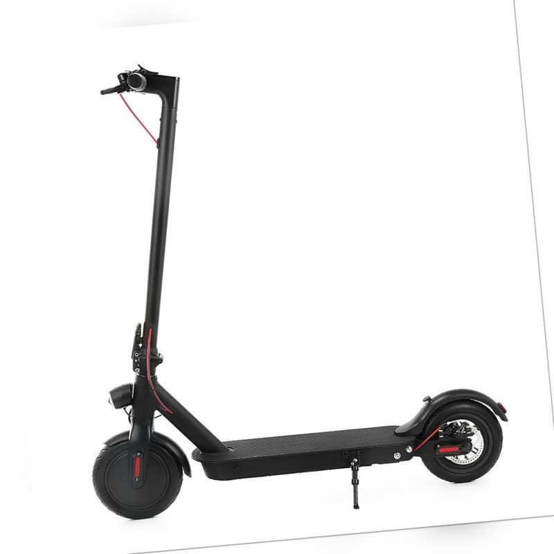 350W Elektro Scooter Roller Elektroroller Scheibenbremse 30KM 7,5AH E-Scooter