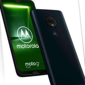 Motorola Moto G7 Plus XT1965-3 Single Sim Deep Indigo, Neu...