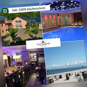 Reise-Gutschein Ostsee Hotel Resort Das Hudewald Seebad Ückeritz 2ÜN/2P