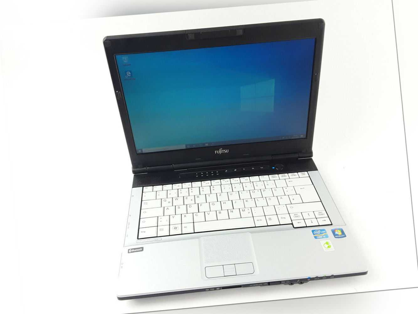 "Fujitsu Lifebook S751 Intel i5-2520M 2.5GHz 14"" 4GB RAM 320GB HDD DVD Win10 Pro"
