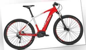 "Univega Alpina B 3.0 29"" Hardtail MTB ebike Bosch 500 Wh RH 48 rot/grau matt"