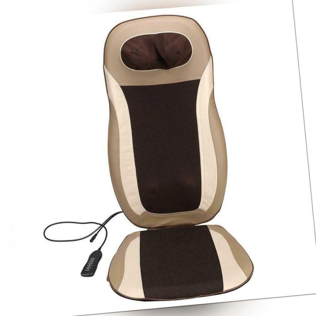 SHIATU Akupressur Massagesitzauflage Massagesitzauflage Massagematte für Rücken