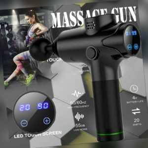 Elektrisches Muskel Massagegerät Muscle Massager gun Massagepistole LDC Relax