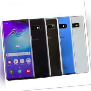 Samsung Galaxy S10+ Plus Schwarz Weiß Blau 6.4 Zoll 128/512GB Top...
