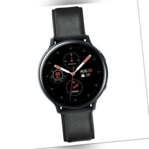 Samsung Galaxy Watch Active 2 40mm Smartwatch Stainless Steel schwarz (2.Wahl)