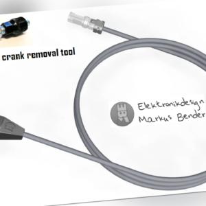 MBIQ-S Bosch Ebike Pedelec TUNING Speedsensor Sensortausch GEN4 + Kurbelabzieher