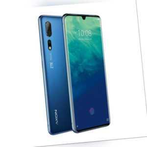 ZTE AXON 10 PRO 128 GB Blau Dual SIM Smartphone Handy