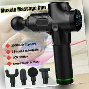 DE Magic Massage Gun Percussion Massager Muscle Vibration Relaxing Pain Relief
