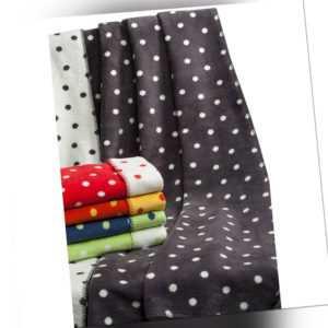 Richter Textilien Decke Punkte 100 x 150 cm Bio-Baumwolle