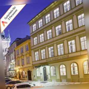 Städtereise Prag Zentrum Designer Hotel Gutschein 2 Personen Frühstück 3- 4 Tage
