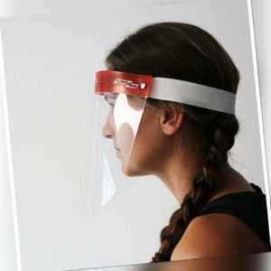 Full-Face-Shield (5er Pack) PVC Schild transparent  Leicht Universelle Größe