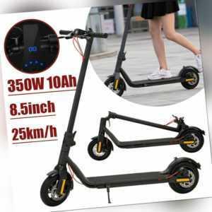 Faltbarer Elektroroller LED E-Scooter E-board Scooter 10Ah 8,5'' 350W 25km/h DE