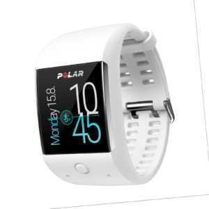 Polar M600 Smartwatch weiss white - GPS - Android Wear - deutscher Fachhändler
