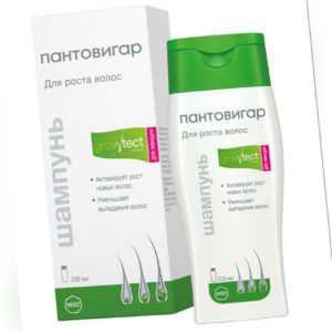 Shampoo Pantovigar Wachstum Formel für Damen 200 ML + Geschenk 300capsules